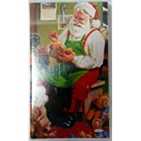 Fiammiferi Lunghi 9,5 cm Santa in Busy Babbo Natale all'opera