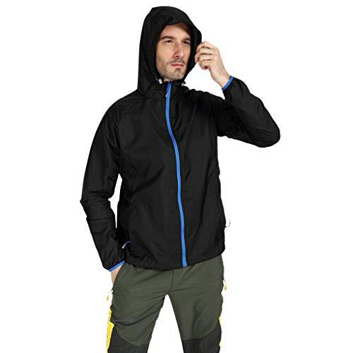 Mens Abnehmen Body Shaper Weste Shirt Frauen Männer Winddichte Jacke Outdoor Fahrrad Sport Quick Dry Windbreaker Coat (Jean Grey Kostüm Für Verkauf)