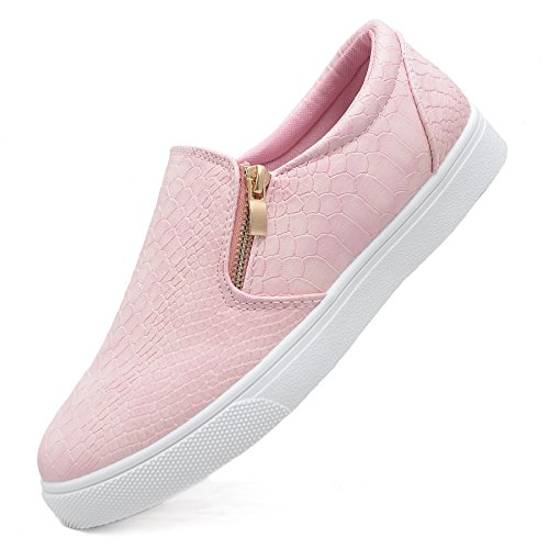 SAlin Shoes© modische Trend Damen Slipper in 6 Farben Pink