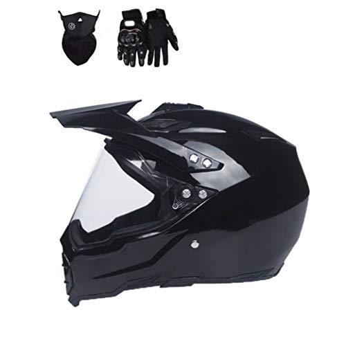 Casco moto con visiera parasole uomo integrale visiere antiappannamento caschi moto per motocross in tutte le stagio