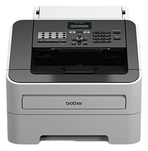 fax brother Brother FAX-2840 Laser-Faxgerät grau/weiß