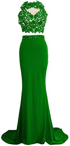 MACloth - Robe - Ajourée - Sans Manche - Femme green