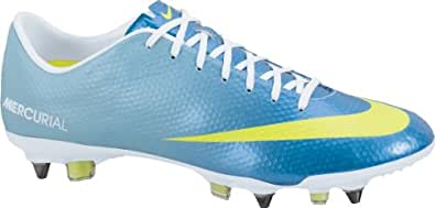 Mercurial Vapor IX SG Pro Football Boots Neptune Blue/Volt/Pink Flash - size 7.5