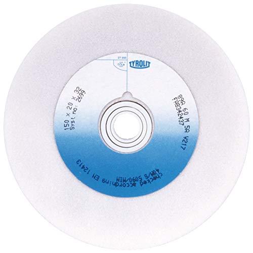 Tyrolit TYR-147614 1 GERADE SCHLEIFSCHEIBE 1 150x25x32 89A80L5AV217