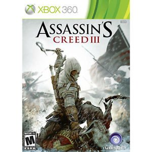 Assassin's Creed III (Microsoft Xbox 360, 2012) Brand New Sealed FREE SHIPPING (John Deere Monitor)