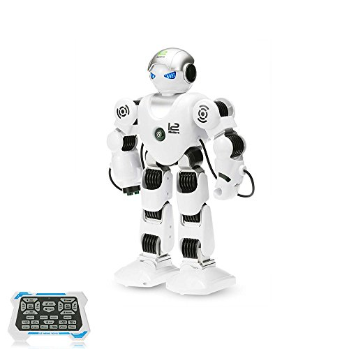 RC ferngesteuerter Tanz Roboter, Modell mit 2,4GHz-Fernbedienung, intelligent programmierbar, Tanz- und Schussfunktion, Neu (Kostüm Tanz Verbindung)