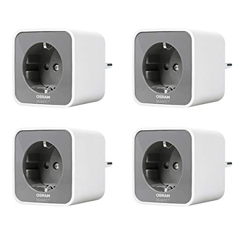 4er Pack OSRAM Lightify Smart+ Plug WLAN Funksteckdose mit Repeaterfunktion