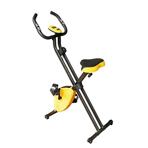 AFDK Klapp Heimtrainer Fitness Stationäre Maschine Heimradfahren Magnetic Trainer -