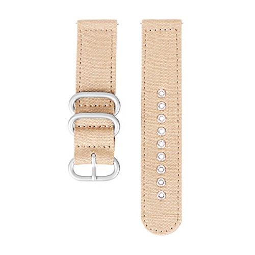 22 millimetri cinturini orologio kaki cinghie in nylon sgancio rapido...