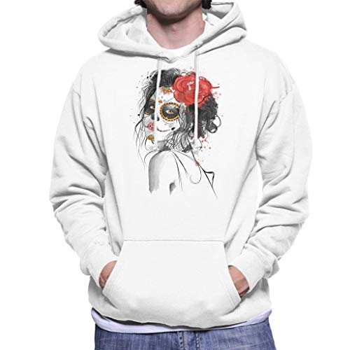 Cloud City 7 Dia De Los Muertos Day of The Dead Men's Hooded Sweatshirt