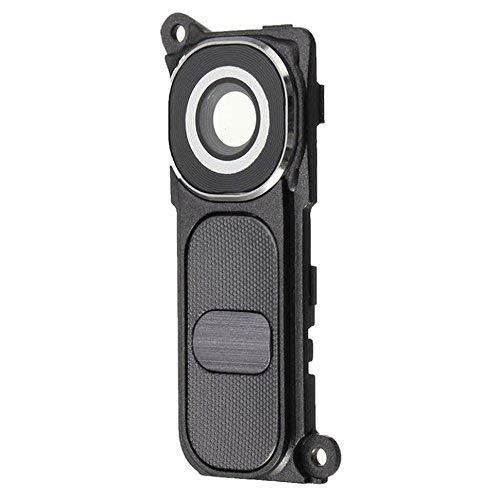MMOBIEL® Reemplazo de Lente de Vidrio para cámara Trasera para LG G4 H610 H811 H812 H815 (Negro/Gris) + Juego de Soporte de Cubierta Incl. Bisel/Soporte del Marco y 2 x Tornillos