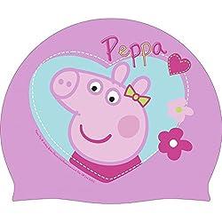 Peppa Pig - Gorro de silicona para piscina (Arditex PP9496)