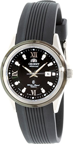 Orient Women's Sporty NR1V003B Black Resin Automatic Watch