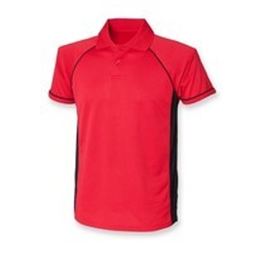 Finden & Hales - Polo - Femme * taille unique Red / Black / Black