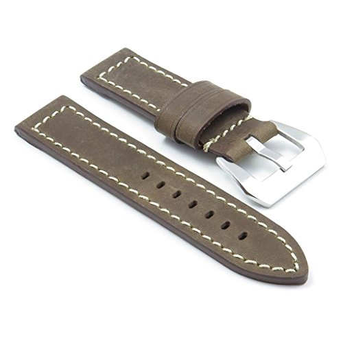 dassari-bentley-brown-w-white-stitching-vintage-leather-watch-band-for-panerai-size-22-22-22mm