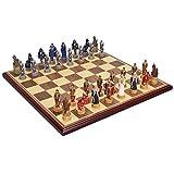 WCCAS Set di scacchi magnetico da viaggio o gioco di scacchi for bambini o adulti
