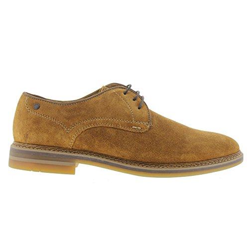 Base London Mens Blake SCO01243 Suede Shoes Tan