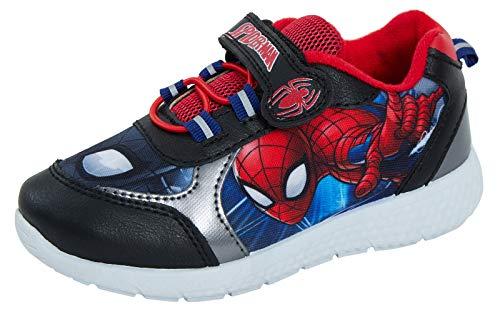 Marvel Spiderman Sportschuhe, leicht, Rot - schwarz/red - Größe: 28 EU