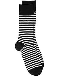 Hommes 1 Paire Hugo Boss Marc Striped 98% peigné chaussettes en coton