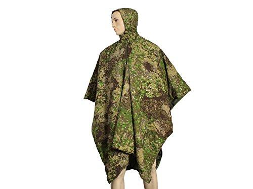 BE-X Primaloft Poncho Liner - Schlafsack, Decke, Mantel 220x145cm, 1160g - in Pencott Greenzone -