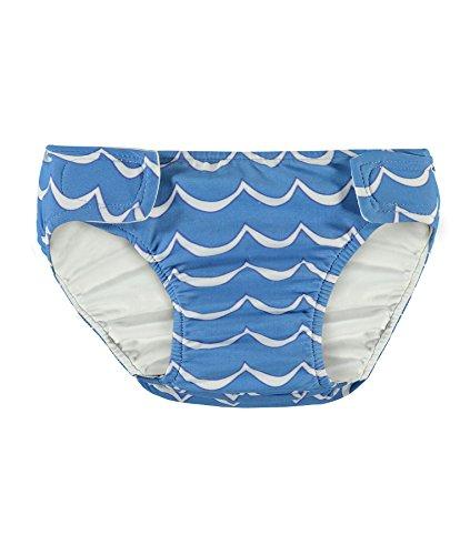 Steiff Baby-Jungen Badehose Schwimmwindel, Blau (Marina 3056), 62