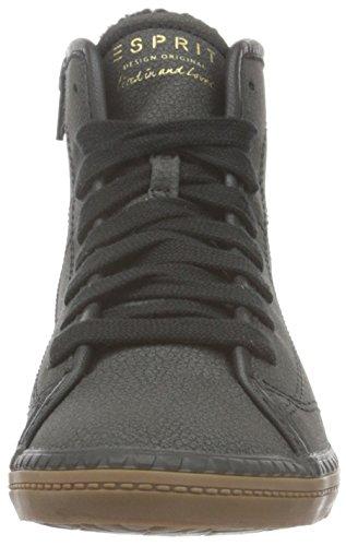 Esprit Mineta, Sneakers Hautes Femme Noir (001 Black)