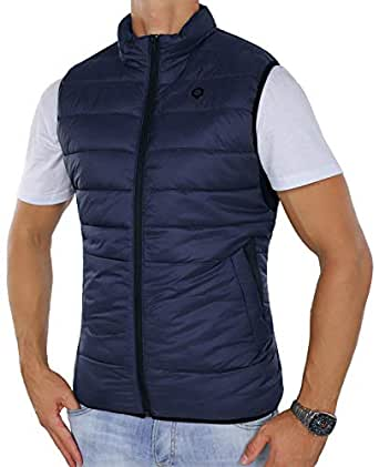 abe099abba861c JACK   JONES Weste JcoGEORGE Bodywarmer Steppweste  Amazon.de ...