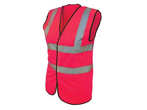 """Scan - Gilet catarifrangente di sicurezza, colore: Rosa, taglia M (39-41"""")"""