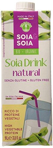 Probios Bevanda di Soia al Naturale  - 10 confezioni da  1 L