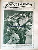 femina no 106 du 15 06 1905 la tribune des dames a chantilly le jour du prix du jockey club 2 heroines russes de la guerre mlle yakovenko et mle smolko