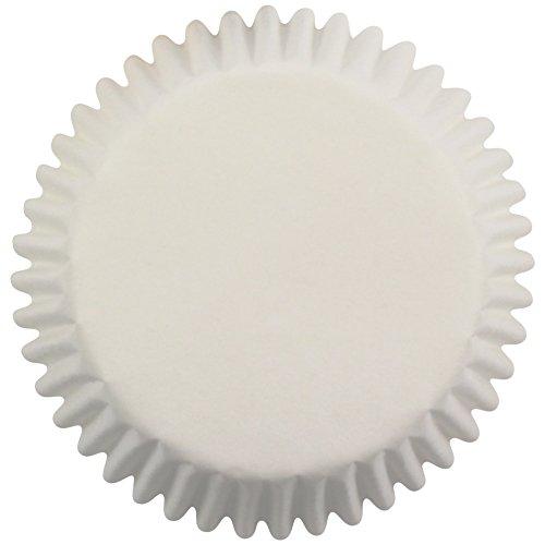 PME - Pirottini di Carta Bianchi per Cupcake e Muffin, 60 Pezzi