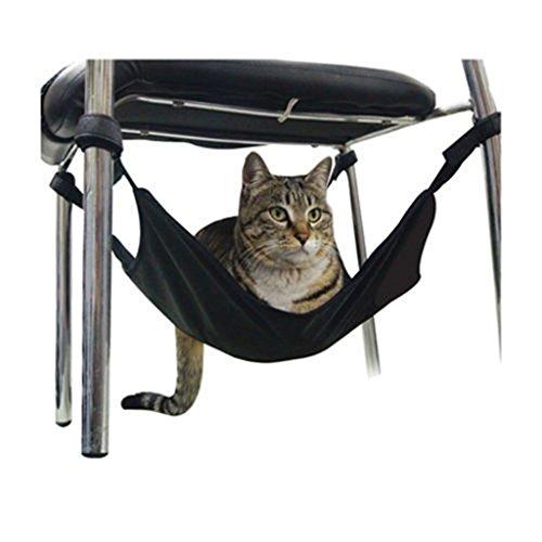 Kungfu Mall Einstellbare Haustier Katze Hängende Hängematte Bett Komfortable Lounge Krippe Weich Warm Katzenbett