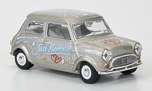 Mini Cooper, Just Married, 1966, voiture miniature, Miniature déjà montée, Oxford 1:43