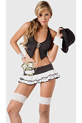 LLY Nach Las Vegas Gamblers Kleidung Rollenspiel-Uniformen sexy Wette Europa