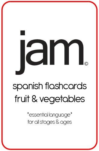 JAM Spanish Flashcards - Fruit & Vegetables por Maria A.  Petit