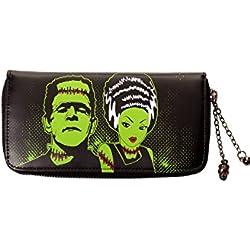Prohibido Frankenstein y novia tipo cartera Negro negro