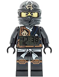 LEGO Unisex Wecker Digital Black 9009617