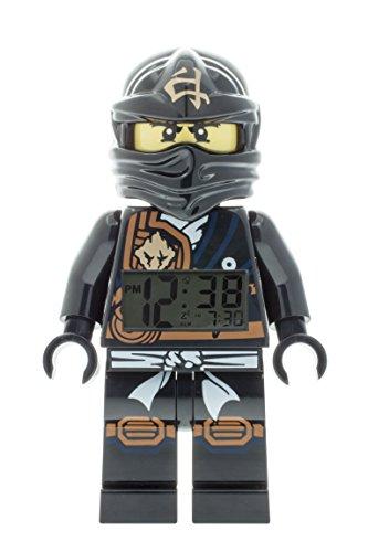 LEGO-Unisex-Wecker-Digital-Black-9009617