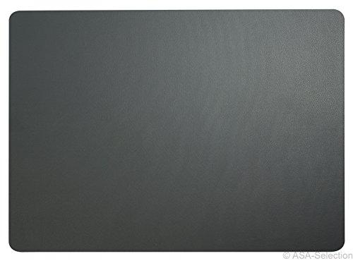 Tischset, Basalt Leder