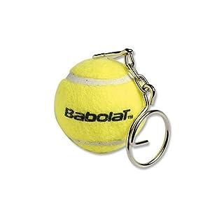 Babolat Ball Key Ring, Schlüsselanhänger Unisex–Erwachsene, gelb, Einheitsgröße