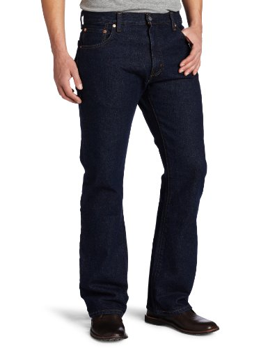 Levi's Men's 517 Boot Cut Jean, Rinse, 44x32 (517 Jeans)