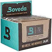 Boveda for Cigars/Tobacco | 75% RH 2-Way Humidity Control | Size 60 for Use with Every 25 Cigars a Humidor Can