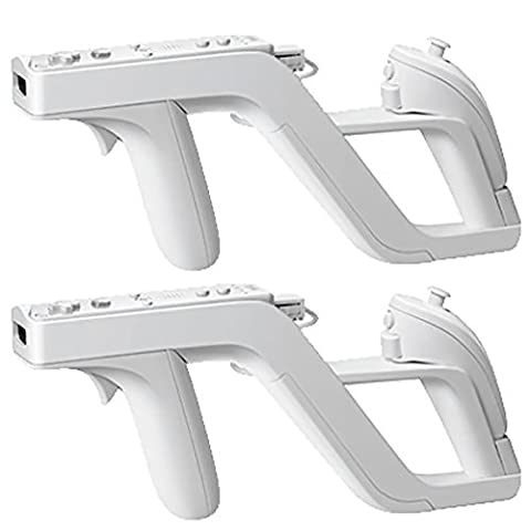2 Stück Wireless Remote Controller für Nintendo Wii Zapper Gun Shooter Spiele (Resident Evil Controller)