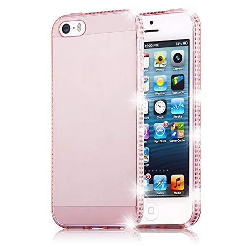 aeda68e35cc Cadorabo Apple iPhone 5 / iPhone 5S / iPhone ES Funda de Silicona TPU  Cristal en