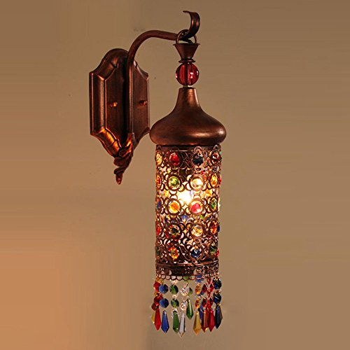 bohemia-rouge-bronze-tete-unique-couloir-mur-led-chambre-bedsides-colore-perles-applique-murale-avan