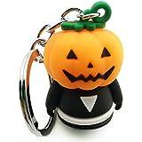 COAFIT Halloween Keychain Pumpkin Decorative Key Ring Pendant Keychain(Multicolor)