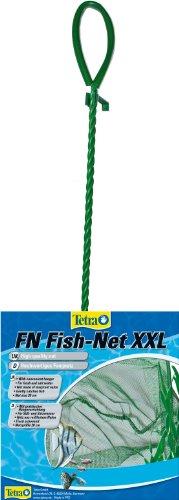 Tetra FN Fish-Net Größe XXL ((hochwertiges Fangnetz aus reißfestem Nylon für Aquarien, Netzgröße 20 cm, ermöglicht das leichte und schonende Herausfangen von Fischen) (Große Netze)