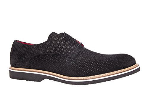 Andres Machado.6205.Chaussures Style Oxford Cuir Suéde.Homme. Pointures 47/50 Made in Spain