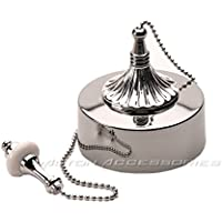 Chrome Decorative Ceiling Pull Switch