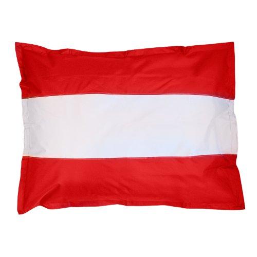 Lumaland XXL Länderflaggen Riesensitzsack Österreich 380l Füllung 140 x 180 cm Indoor Outdoor Original
